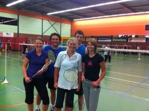 Competitie - Teams - Sportvereniging SNA Badminton Nederland Competitie