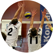 slider volleybal rond