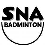 Logo SNA Badminton met schaduw