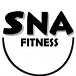 Logo SNA Fitness met schaduw