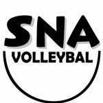Logo SNA Volleybal met schaduw (Custom)