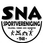 Logo SNA alle sporten met schaduw
