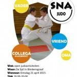 flyer nationale sportweek judo