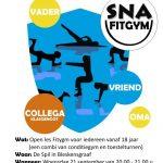 flyer nationale sportweek fitgym