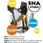flyer nationale sportweek fitness A6