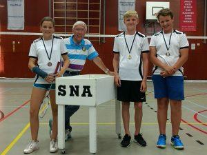 SNA Badminton 1617 jeugd U14