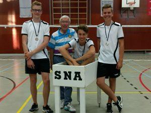 SNA Badminton 1617 jeugd U17