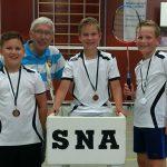 SNA Badminton 1617 jongens U12