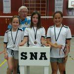SNA Badminton 1617 meisjes U10