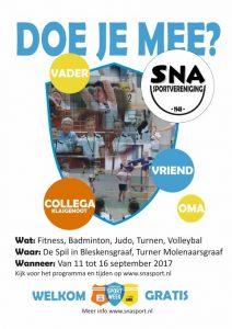 poster A4 nationale sportweek alle sporten (Small)
